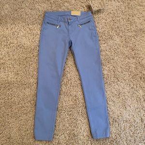 Michael Kors Izzy Skinny Jeans - Pale Crew Blue